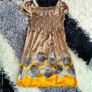 Naf Naf mini empire waist dress size 4